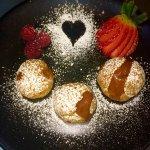 La felicidad está en casa. Bocconcini de chocolate. #I love san Valentín # Nicolleta Bilbao# ven
