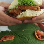 the best fish burger i have ever had....
