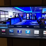 Smart TV In Room Including Sky Sport Channels.