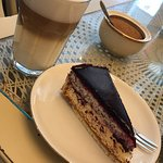 Wonderfull place in town. Good coffee and wonderfull and delicious cake