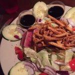 Ahi salad