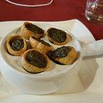 Escargots aux champignons en crousitle