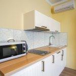 Двухкомнатный люкс с мини-кухней и балконом