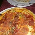 Pizza Toscana y Raviolis