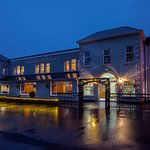 The Woodford Dolmen Hotel, Carlow in the evening.