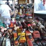 Photo of MASP antiques market
