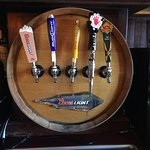 so much to choose on a draft beer large selection of beers wines and liquor