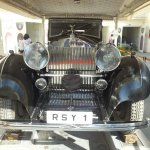 Vintage Collection of Classic Cars Museum Foto