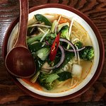 Monk's broth - opt for red curry instead