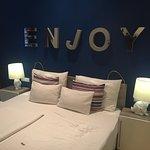 La nostra camera, accogliente calda e pulita