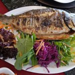 Black Sea bream fish..yummy