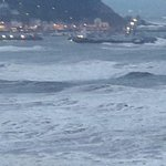 Wild seas during high tide 11/2/17
