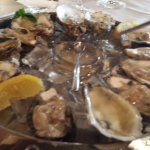 Oysters (a bargain on Sunday and Monday)