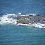 Vista aérea da ilha - desconheço a fonte