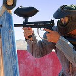Paintball games at Zion Ponderosa