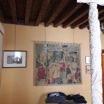 il soffitto a travi di legno