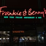 Entrance to Frankie & Benny's