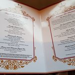 Cream Tea menu