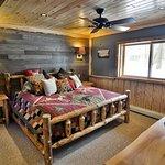 Birch Suite Bedroom - 1 king bed, log furniture