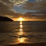 Tulemar Beach sunset
