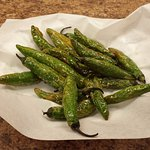 Sometimes they have these fried serranos - hot but tasty