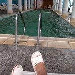 Bella piscina coperta
