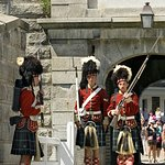 Changing of the guards...very cool