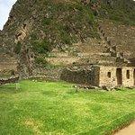 Tempel von Ollantaytambo Foto