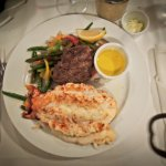 Lobster with a filet addition