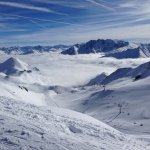 Lovely piste of Austria and Switzerland