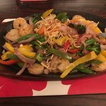 Prawn sizzler and steak ... awesome