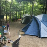 Great tent camping in central VT