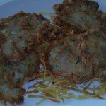 Tortillitas de Camarones en la Venta Esteban