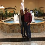 Great fountain at the Radisson