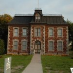Historical Building at Sault Locks