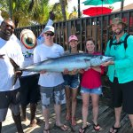 55 lb Wahoo with Anthony (left) and Mario (back)