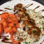 Teriyaki Glazed Shrimp