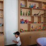 Vihaan in kids room