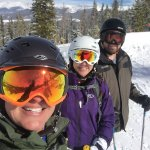 At the slopes at Winter Park