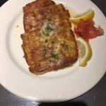 Pan seared calamari appetizer