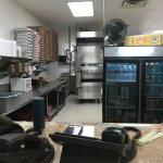 Kitchen & pizza oven