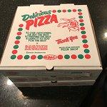 Delivery pizza box