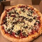 Muffeletta Pizza