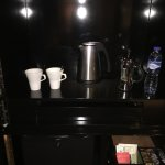 Complimentary in-room coffee/tea/bottled water