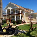 Rent a quiet electric golf cart at Ahoy Inn