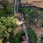waterfall at katoomba