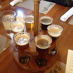 Five-ounce craft beer samples....
