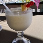 Pina colada = delicious and refreshing