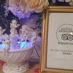 Awards - Certificate of Excellence from TripAdvisor & Editor's Choice from Blissful Brides