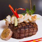 Black Angus Tenderloin Surf n' Turf